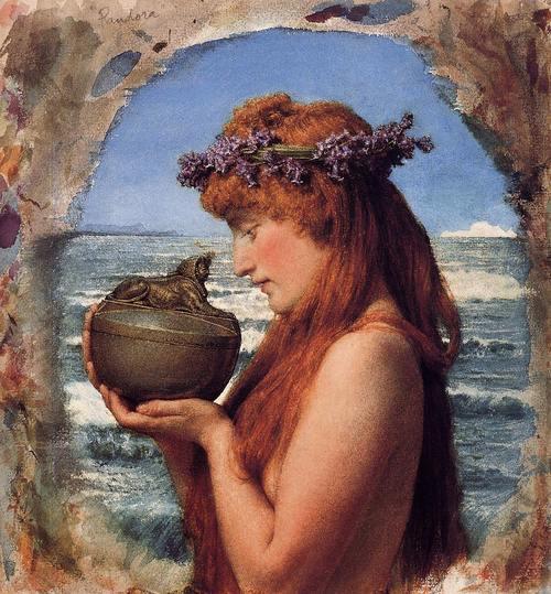 Pandora of Greek Myth