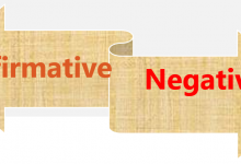 Photo of Change Affirmative Sentences into Negative without Changing Meaning